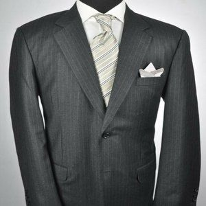 Bespoke / ZEGNA Fabric Dark Gray Modern 2Btn Suit